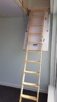 Classic Nordic Pine Ladder