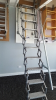 Scissor ladder