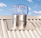 Whirlybirds and solar powered roof ventilators